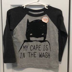 My Cape Is In The Wash Batman Collectible Tee